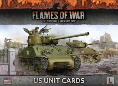 US Unit Cards (Late War)