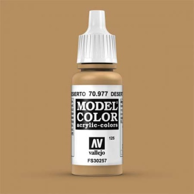 Model Color 125 Ockergelb Dunkel (Desert Yellow) (977)