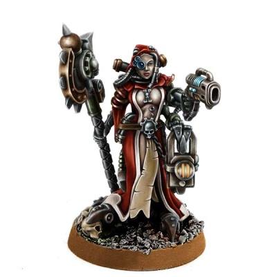 Female Inquisitor Mechanicum