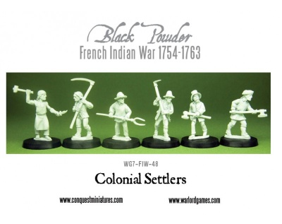 Colonial Settlers (6)