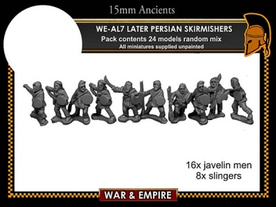 Later Persian, Skirmishers