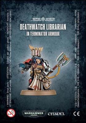 Deathwatch Librarian in Terminatpr Armour