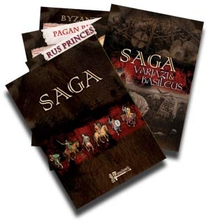 SAGA - Varjazi & Basileus (inc 3 battelboards)