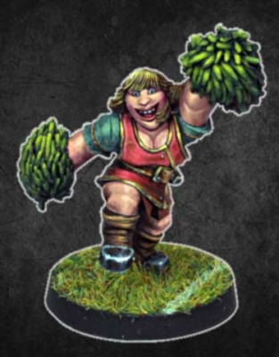 Dwarf Cheerleader