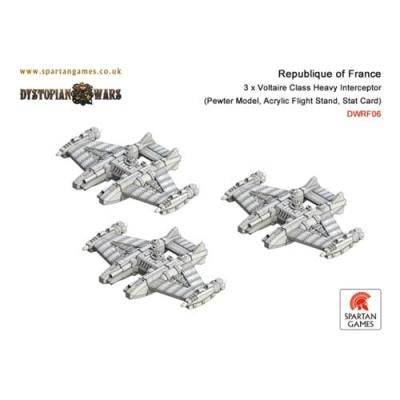 Republique of France Voltaire Class Interceptor (3)(OOP)