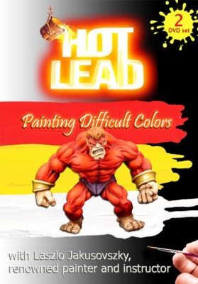 Hot Lead - Painting difficult colors (2 DVD Set)