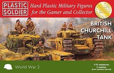 1/72nd British Churchill Tank (2)