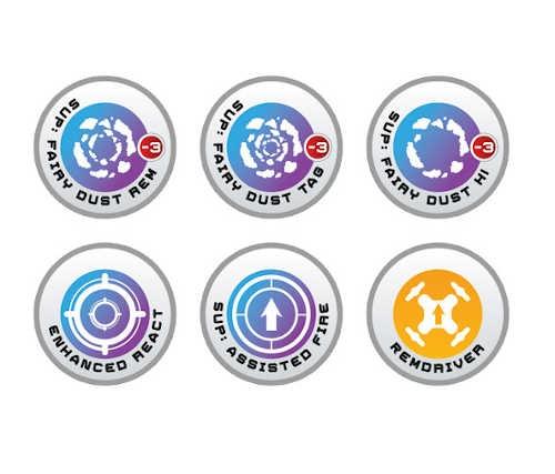 N4 Infinity Tokens REM (6)