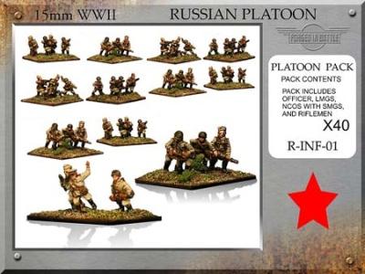 Russian Infantry Platoon