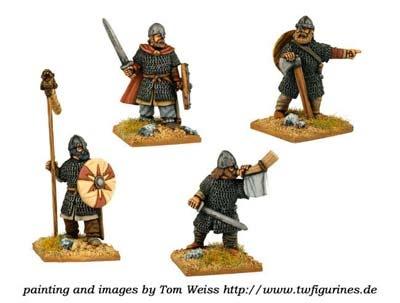 Saxon Huscarl/Thegn Command (4)