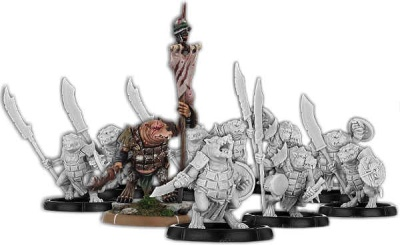 No-Claw's Burrow, Spear-Vras Command Unit (10)