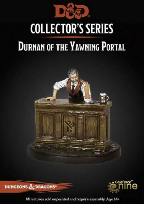 "D&D ""Dungeon of the Mad Mage"" Durnan of the Yawning Portal"