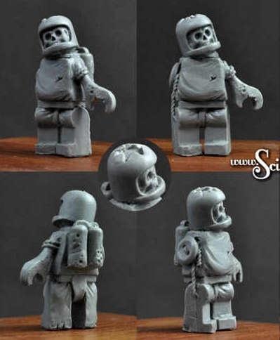 Astronaut Zombie #1