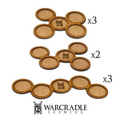 Skirmish Movement Trays - 30mm (8)