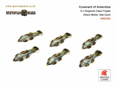 Covenant of Antarctica Diogenes Class Frigate (6) (OOP)