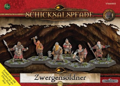 Schicksalspfade - Miniaturenbox: Zwergensöldner (6)