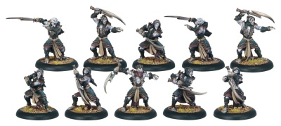 Blighted Nyss Hex Hunter Unit