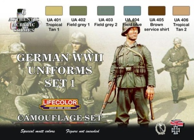 German uniforms Set I WWII