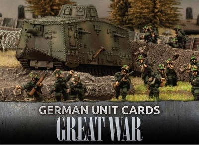 German Great War Unit Cards