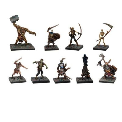 Evil Dead Miniatures Set (9)