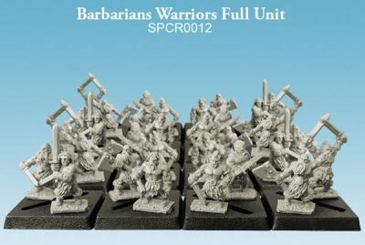 Barbarians Warriors Full Unit (10mm) (32)
