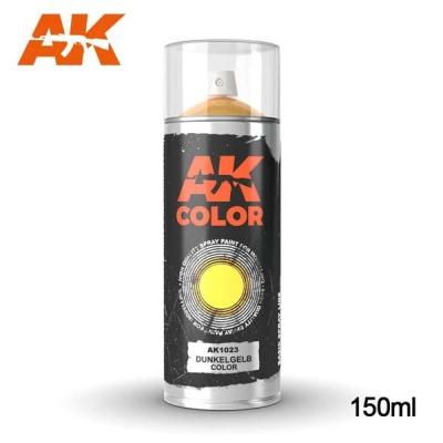 AK Dunkelgelb Base Primer Spray (150ml)