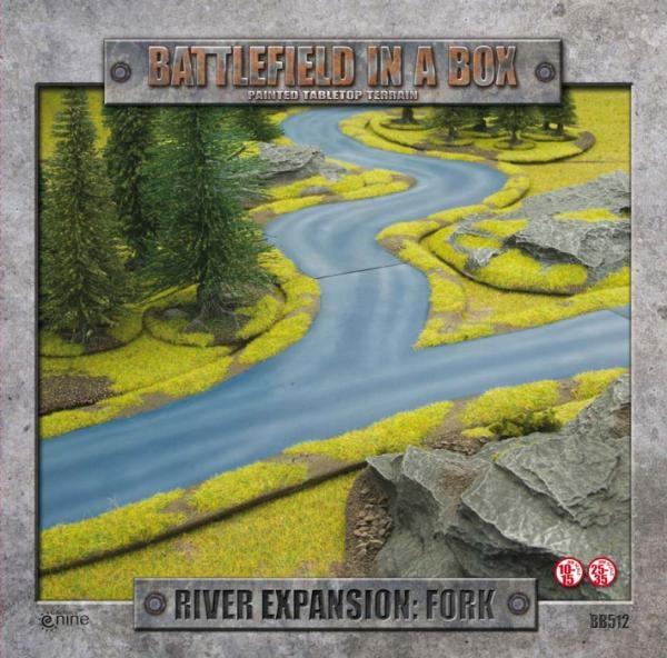 River Expansion - Fork (3 pcs) (OOP)