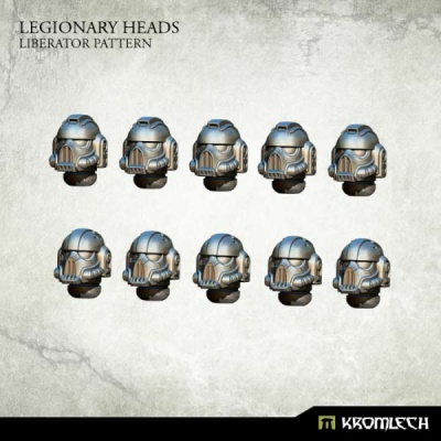 Legionary Heads: Liberator Pattern (10)