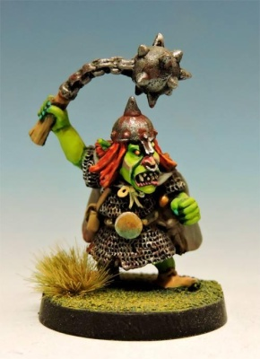 Hill Goblin Champion w Ball and Chain