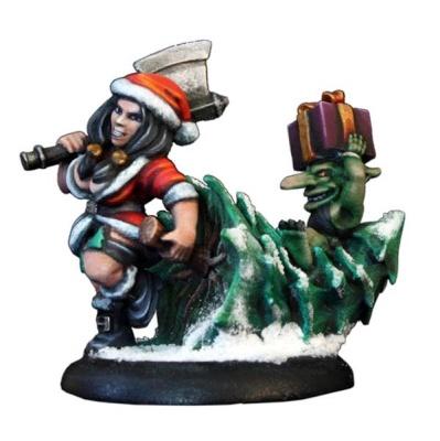 21st Century Pinup - Santa Dwarf