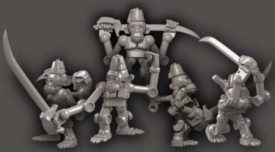 Clockwork Chimps w blades (5)