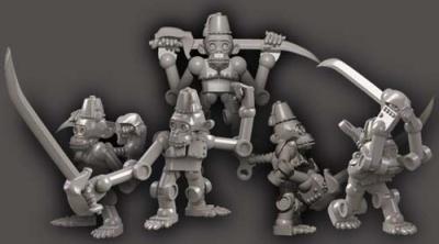 Clockwork Chimps w blades (5)