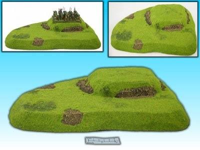 Hügel mit Ebenen II