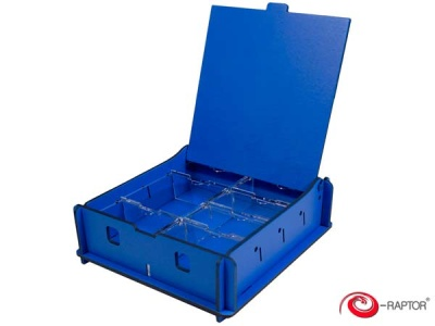 Board Game Storage Boxes: Universal Box Small (Blue)