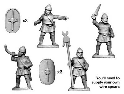 Numidian Command for Infantry (4)