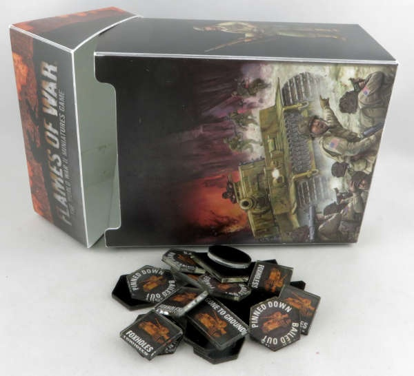FlamesOfWar: Kartenbox und Tokens