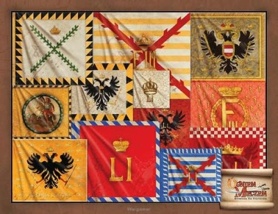Imperial banners