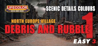EASY 3: North Europe Village Rubble (3)