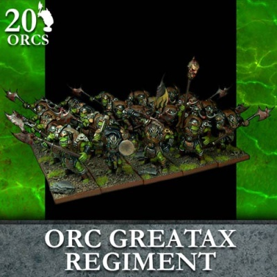 Orc Greataxe Regiment (20)
