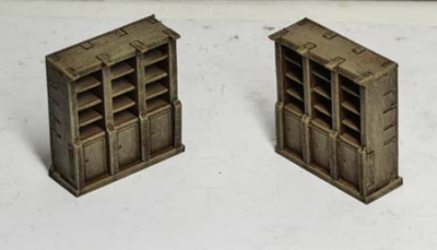 19th c. Store Shelves (x2)