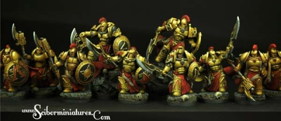28mm SFSpartan Warriors (10)