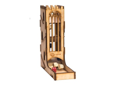 Dice Towers: Dice Tower - Castle (Wooden)