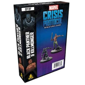 Marvel Crisis Protocol: Black Panther and Killmonger - EN