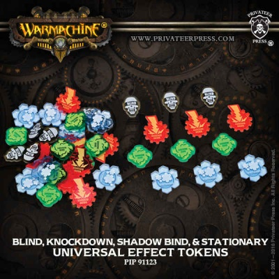 Universal Effect Tokens-Blind, Knockdown, Shadow Bind, Stati