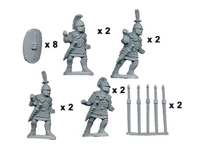 Principes/Triari with Pila/Spear (8)