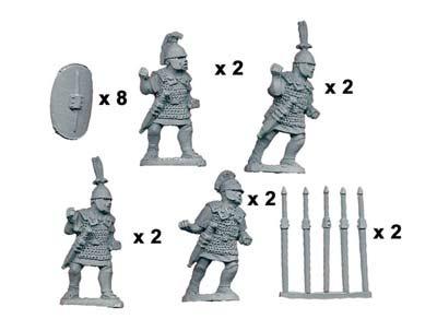 Principes/Triari with Pila/Spear (8)