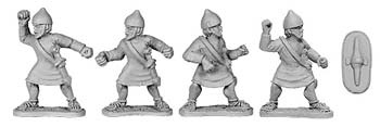 Carthaginian Citizen Spearmen (random 8 of 4 designs)