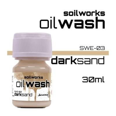 Oil Wash: Dark Sand