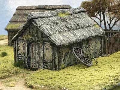 Wattle & Daub Outbuilding