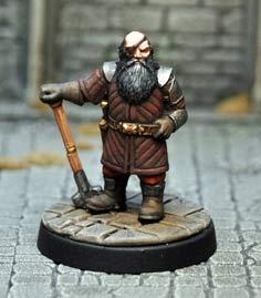 Dwarf Mercenary V1
